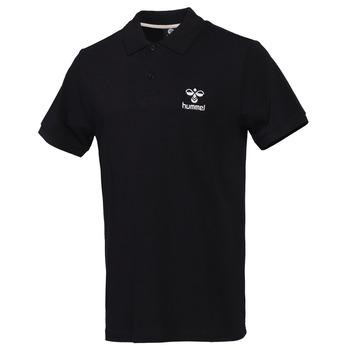 Hummel Leon Siyah Erkek Polo Yaka Tişört